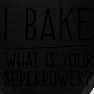 I bake what is your superpower? T-Shirts - Bandana