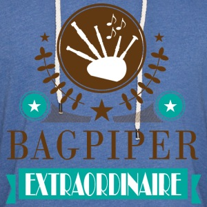 Bagpiper Gift Bagpipe Fun T-Shirts - Unisex Lightweight Terry Hoodie
