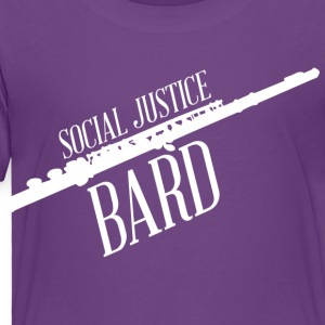 Social Justice Bard - Kid's T - Toddler Premium T-Shirt