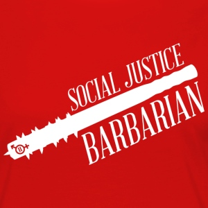 Social Justice Barbarian - Woman's T - Women's Premium Long Sleeve T-Shirt