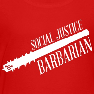 Social Justice Barbarian - Kid's T - Toddler Premium T-Shirt