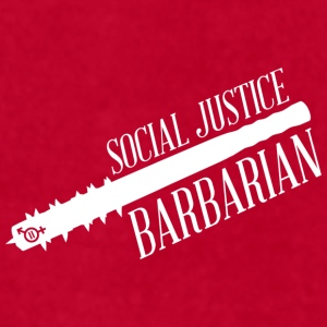 Social Justice Barbarian - Mug - Men's T-Shirt by American Apparel