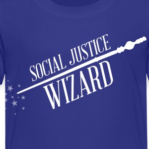 Social Justice Wizard - Kid's T - Toddler Premium T-Shirt