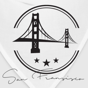 San Francisco vector T-Shirts - Bandana