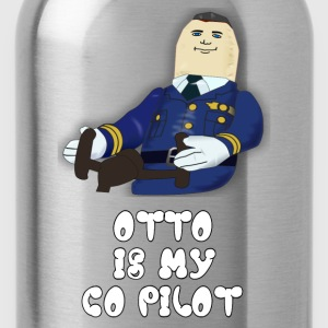 Otto Is My Co Pilot - Airplane T-Shirts - Water Bottle