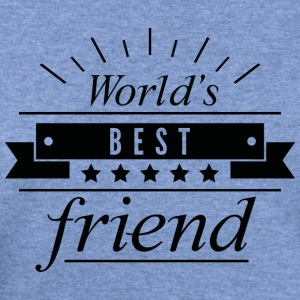 World's Best Friend - Women's Wideneck Sweatshirt