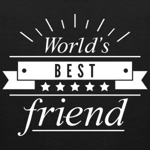 World's Best Friend - Men's Premium Tank
