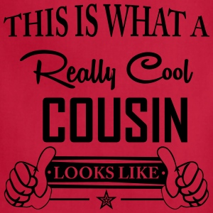 This Is What A Really Cool Cousin Looks Like T-Shirts - Adjustable Apron