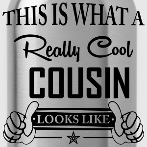 This Is What A Really Cool Cousin Looks Like T-Shirts - Water Bottle