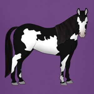 Paint Horse black white Kids' Shirts - Toddler Premium T-Shirt