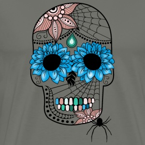 Sugar Skull South Seas Hoodies - Men's Premium T-Shirt