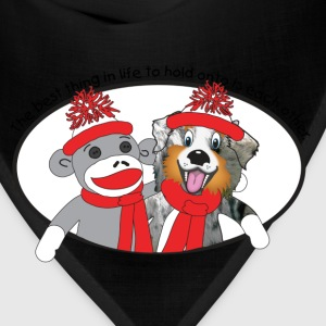 Sock Monkey and Aussie T-Shirts - Bandana