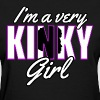 Very Kinky Girl Natural Hair Shirt - Women's T-Shirt