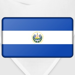 Flag of El Salvador (bevelled) - Bandana
