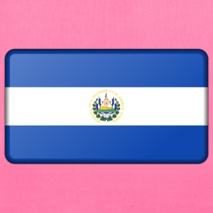 Flag of El Salvador (bevelled) - Tote Bag