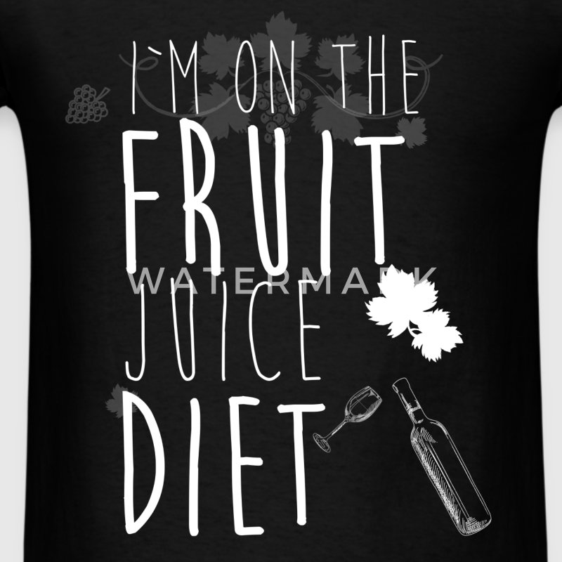 I'm on the fruit juice diet - Men's T-Shirt