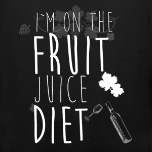 I'm on the fruit juice diet - Men's Premium Tank
