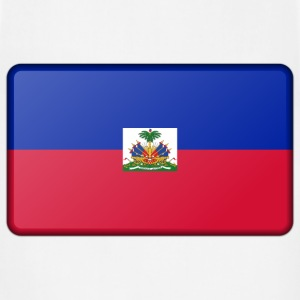 Flag of Haiti (bevelled) - Adjustable Apron