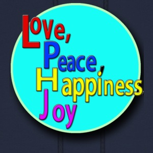 Love, Peace, Happiness, Joy - Men's Hoodie