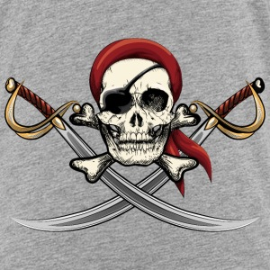 Pirate Skull  Bags & backpacks - Toddler Premium T-Shirt