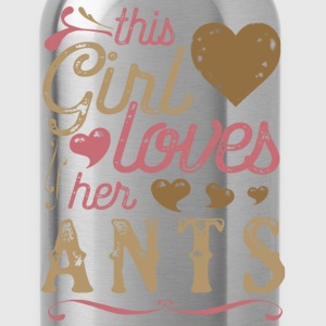 This Girl Loves Her Ants Ant T-Shirts - Water Bottle