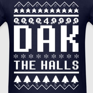 Dak The Halls Ugly Christmas Sweater - Men's T-Shirt