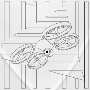 Quad Drone Coloring for Grown Ups - Bandana