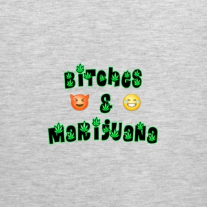 Bitches & Marijuana - Men's Premium Tank