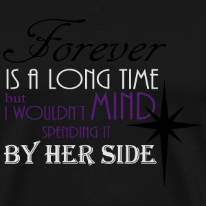 Forever by her side Hoodies - Men's Premium T-Shirt
