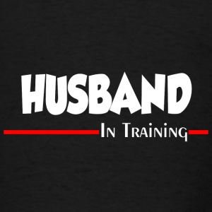 HUSBAND IN TRAINING Aprons - Men's T-Shirt