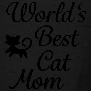 world's best cat mom Aprons - Men's T-Shirt