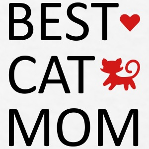 best cat mom Mugs & Drinkware - Men's T-Shirt