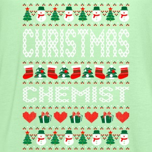 Christmas Chemist Ugly Sweater T Shirt T-Shirts - Women's Flowy Tank Top by Bella
