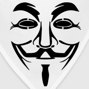 Anonymous - Guy Fawkes Mask T-Shirts - Bandana