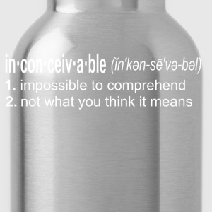 Inconceivable - The Princess Bride T-Shirts - Water Bottle