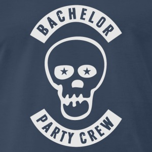 Bachelor Party Crew Patch Sportswear - Men's Premium T-Shirt