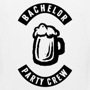 Bachelor Party Crew Patch Long Sleeve Shirts - Men's Premium Tank