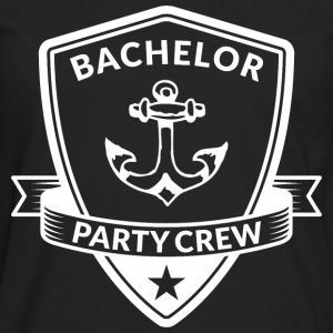 Bachelor Party Crew Emblem T-Shirts - Men's Premium Long Sleeve T-Shirt
