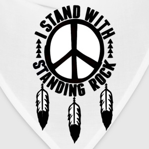 I Stand With Standing Rock - Bandana