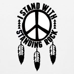 I Stand With Standing Rock - Men's Premium Tank