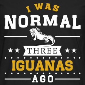 Normal Three Iguanas Ago Hoodies - Men's Premium Long Sleeve T-Shirt