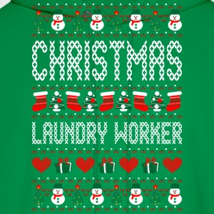 Christmas Laundry Worker Ugly Christmas Sweater T-Shirts - Men's Hoodie