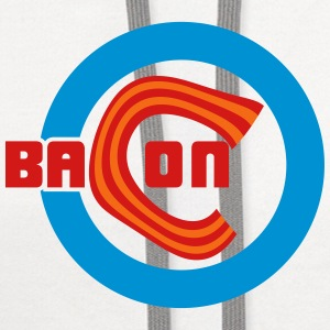 Chicago Bacon Baseball Aprons - Contrast Hoodie