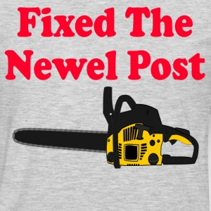 Fixed The Newel Post - Christmas Vacation T-Shirts - Men's Premium Long Sleeve T-Shirt