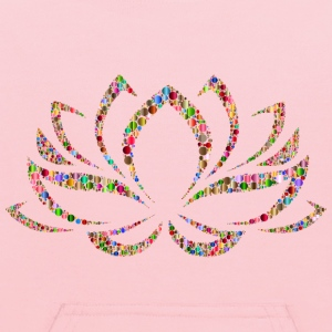 Colorful Lotus Flower Circles 4 - Kids' Hoodie