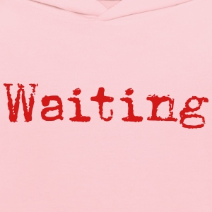 Waiting... Poetry Book English - Kids' Hoodie
