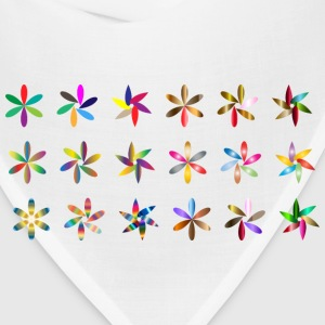 Simple Colorful Flowers - Bandana