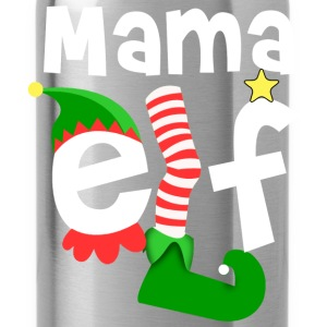 Mama Elf Christmas T-Shirts - Water Bottle