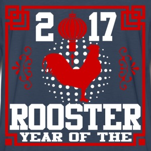 rooster 2017 278378123.png T-Shirts - Men's Premium Long Sleeve T-Shirt