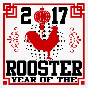 rooster 2017 1219201902.png T-Shirts - Men's Premium Long Sleeve T-Shirt